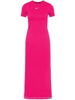Nike Sukienka codzienna Icon Clash DC5290 Różowy Tight Fit