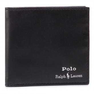 Duży Portfel Męski POLO RALPH LAUREN - Mpolo Co D2 405803866002 Black