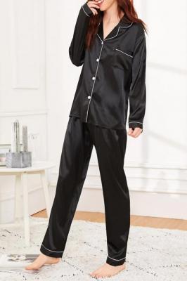 Piżama damska TEMIDA BLACK