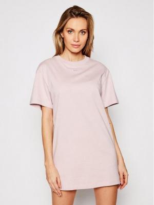 Nike Sukienka codzienna Sportswear Essential CJ2242 Różowy Loose Fit