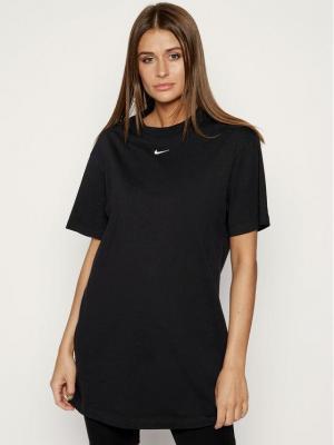 Nike Sukienka codzienna Essential CJ2242 Czarny Loose Fit