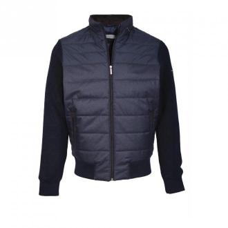 Bugatti Vest 6700 Bluzy Niebieski Dorośli Mężczyźni Rozmiar: L