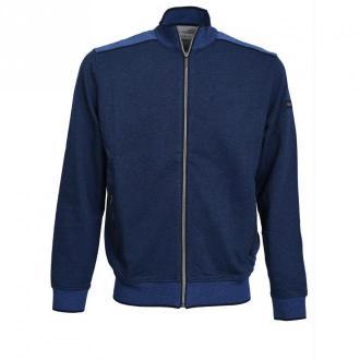 Bugatti Vest Swetry Niebieski Dorośli Mężczyźni Rozmiar: 3XL
