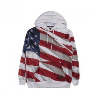 Caterpillar Man's Sweatshirt Bluzy Biały Dorośli Mężczyźni Rozmiar: M