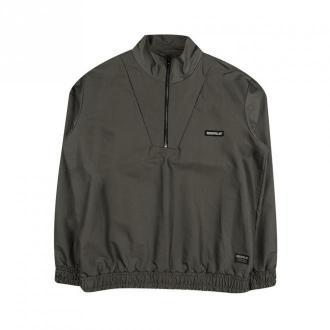 Caterpillar 1/2 Zip sweatshirt Bluzy Zielony Dorośli Mężczyźni