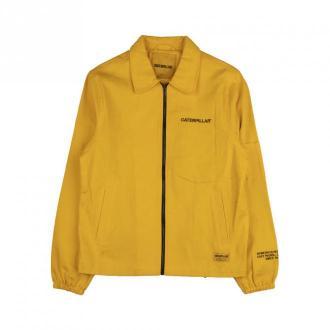 Caterpillar Full Zip Jacket Kurtki Żółty Dorośli Mężczyźni Rozmiar: M