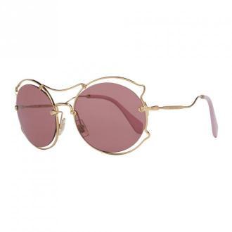 Miu Miu Sunglasses Akcesoria Żółty Dorośli Kobiety Rozmiar: Onesize