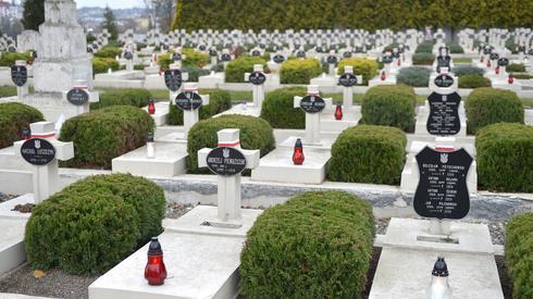 Cmentarz Orląt Lwowskich - część Cmentarza Łyczakowskiego we Lwowie (Fot. Darek Delmanowicz/PAP)