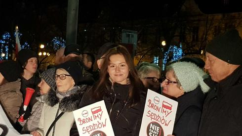 Demonstracja w Szczecinie/ fot. Alicja Wirwicka