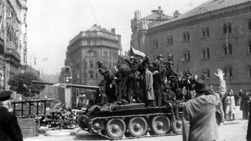 Praga, maj 1945