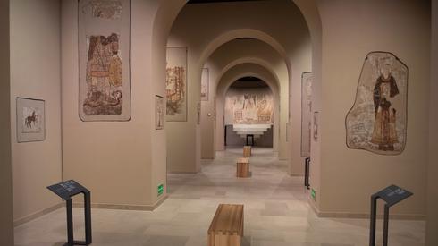 Ponownie otwarto Muzeum Narodowe w Warszawie, m.in. galerię Faras przedstawiającą sztukę nubijską // fot. Andrzej Lange