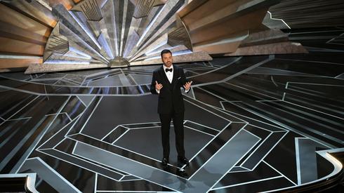 Jimmy Kimmel na scenie (fot. Getty Images)