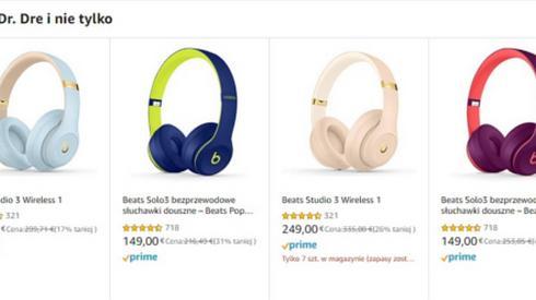 Promocja na słuchawki Beats