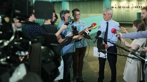 Briefing prasowy Michała Laskowskiego