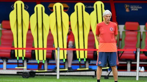 Nie tylko Polacy zagrają swój drugi mecz grupowy w zmienionym składzie. Media z Kolumbii donoszą, że Jose Pekerman także szykuje kadrową rewolucję (fot. PAP/EPA)