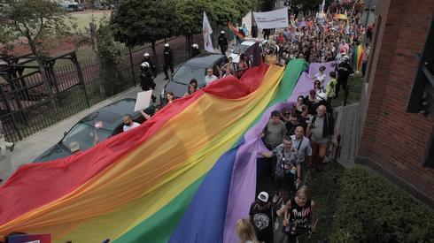 Uczestnicy Marszu Równości. Fot. Jędrzej Nowicki/Agencja Gazeta