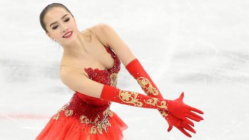 Złota medalistka wśród solistek - Alina Zagitowa. Autor: PAP/EPA/TATYANA ZENKOVICH
