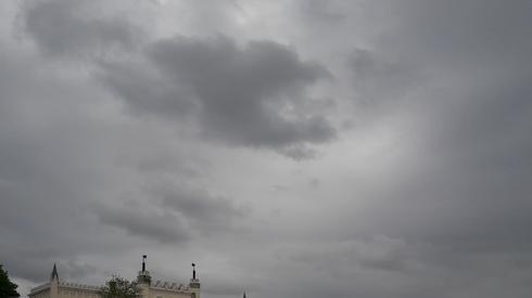 Tak wygląda niebo w Lublinie.