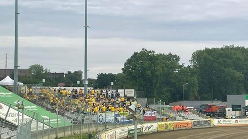 Kibice Motoru Lublin licznie stawili się w Częstochowie! fot. Oliwia Bajor