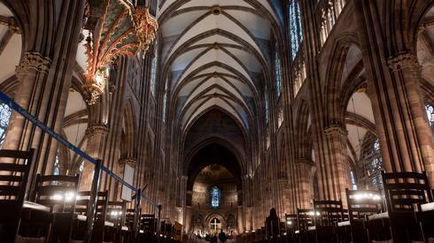 Tak wyglądała katedra Notre-Dame wewnątrz zanim doszło do pożaru (Fot. Bartosz Krupa/East News)