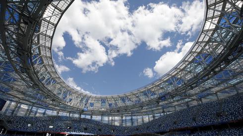 Stadion w Niżnym Nowogrodzie - na tym obiekcie o godzinie 14 Szwecja zagra z Koreą Południową (fot. PAP/EPA)