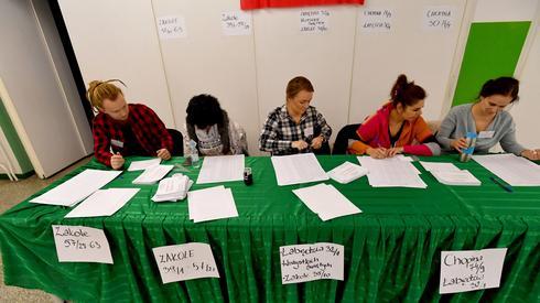 Komisja wyborcza w Szczecinie