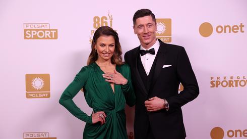 Anna i Robert Lewandowscy. Fot. Piotr Kucza/newspix.pl