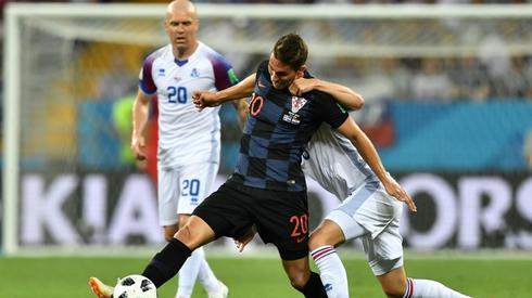Chorwaccy napastnicy majądziś spore problemy (fot. AFP)