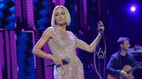A tak na scenie prezentowała się Ania Wyszkoni (fot. East News)