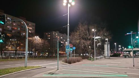 Puste centrum Szczecina, fot. Alicja Wirwicka