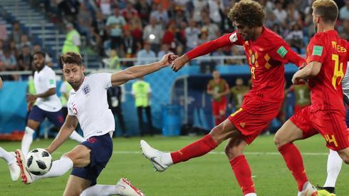 W ostatnim meczu fazy grupowej Belgia pokonała Anglię 1:0, ale i tak obie ekipy wyszły z grupy G do fazy pucharowej. Anglia zagra z Kolumbią, a Belgia z Japonią (fot. PAP/EPA)