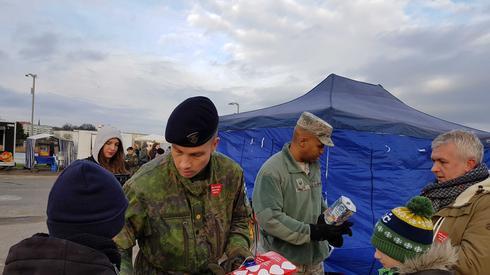 Szczeciński korpus NATO wspiera WOŚP