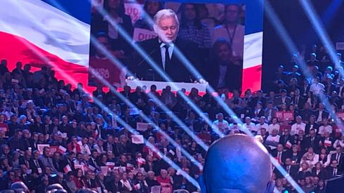 Trwa przemówienie prezesa PiS