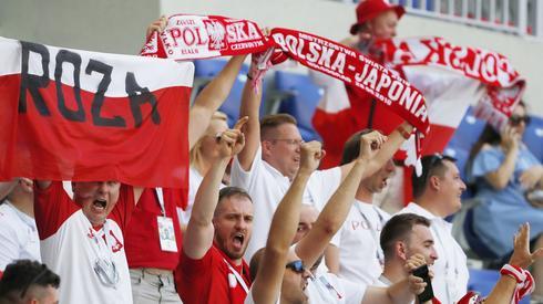 Polacy już nie mają szans na wyjście z grupy, ale na stadionie w Wołgogradzie z trybun i tak wspierać ich będzie około dwóch tysięcy kibiców w biało-czerwonych barwach (fot. PAP/EPA)