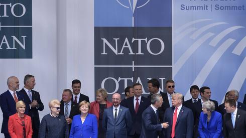 Podczas szczytu NATO spodziewana jest burzliwa dyskusja o wydatkach na obronę (fot. PAP/BELGA/POOL CHRISTOPHE LICOPPE)