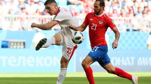 Czekamy na pierwszego gola w czwartym dniu mistrzostw. W meczu Kostaryka - Serbia wciąż żadnego nie obejrzeliśmy (fot. PAP/EPA)