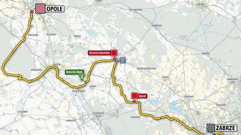 Drugi etap natomiast rozpocznie się w Opolu, a zakończy się w Zabrzu