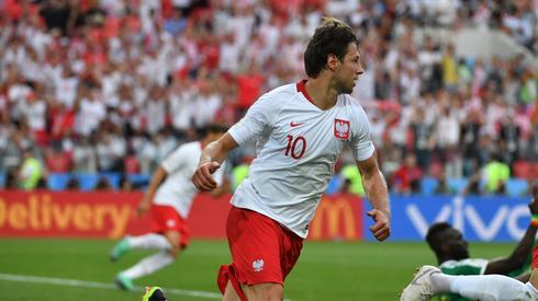 Honorowego gola dla Polaków strzelił wczoraj Grzegorz Krychowiak (fot. PAP/EPA)