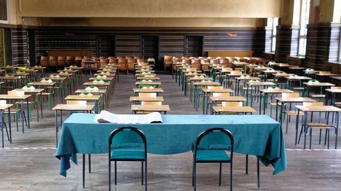 Przygotowania do egzaminu w Zabrzu (Fot. PAP/Andrzej Grygiel)