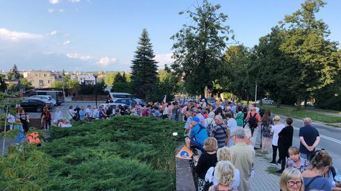 Protest w Kielcach. Zdj. Piotr Rogoziński