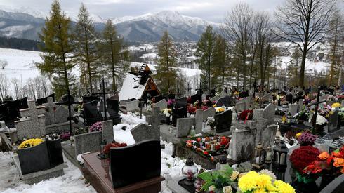 Cmentarz na Olczy w Zakopanem (Fot. Grzegorz Momot/PAP)