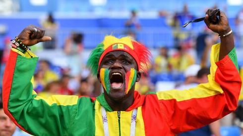 Senegalscy fani też są w Samarze (fot. AFP)