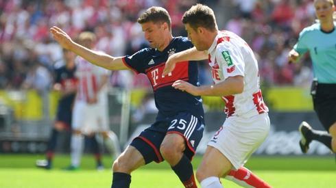 Thomas Muller nie ma dziś łatwego zadania