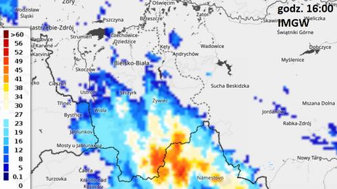 Burza na południu kraju