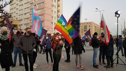 Protest w Szczecinie