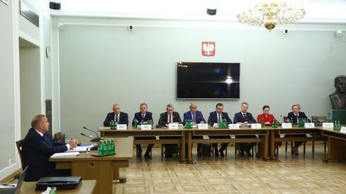 Przesłuchanie Grzegorza Schetyny / fot. Rafał Guz, PAP