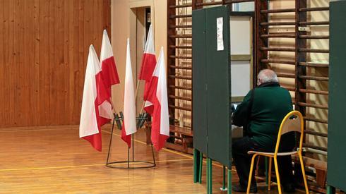 O godzinie 21 poznamy pierwsze wyniki wyborów samorządowych exit poll (Fot. Paweł Małecki/Agencja Gazeta)
