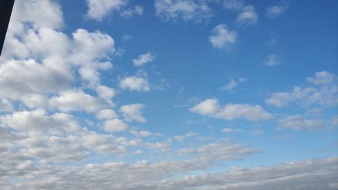 Niebo nad Lesznem ok. 8:00