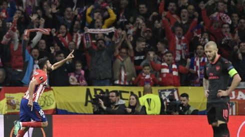 Tak Diego Costa cieszył się z gola