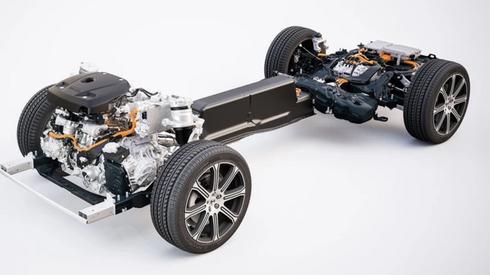 Volvo XC90 T8 - budowa napędu hybrydy Plug-in